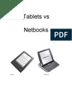 Tablets vs Net Books