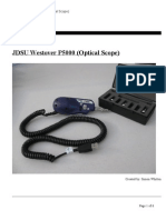 JDSU Westover P5000 Operations Manual
