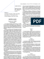 Decreto-Lei n.º 113/2011. DR n.º 229, Série I de 2011-11