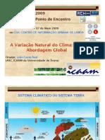 A VARIAÇÃO NATURAL DO CLIMA. UMA ABORDAGEM GLOBAL