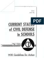 Current Status of Civil Defense in Schools