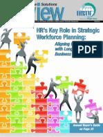 HR's Key Role in Strategic Workforce Planning