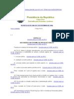 Decreto-Lei 2848 -1949 - Código Penal - Crimes Servidor