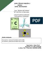 Afiche Curso Quimica Del Carbono en Servicio_Febrero 2012_Avellaneda