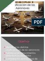 Clasificación de las Aeronaves