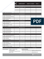 P90X Worksheets | Weight Training | Human Weight