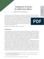 Analysis of the Jiahu Bone Flutes