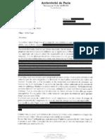 Abbé Guy Pagès , la lettre ayant crée la polémique. L'auteur a corrigé dans un 2em courrier