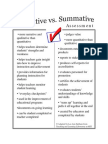 Initial Assessments that Drive Instruction