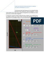 Correccion F.P - ejemplo real - software LabView