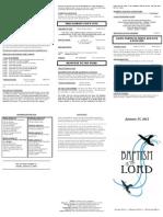 bulletin - 20120115