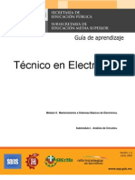 M2 S1 electronica