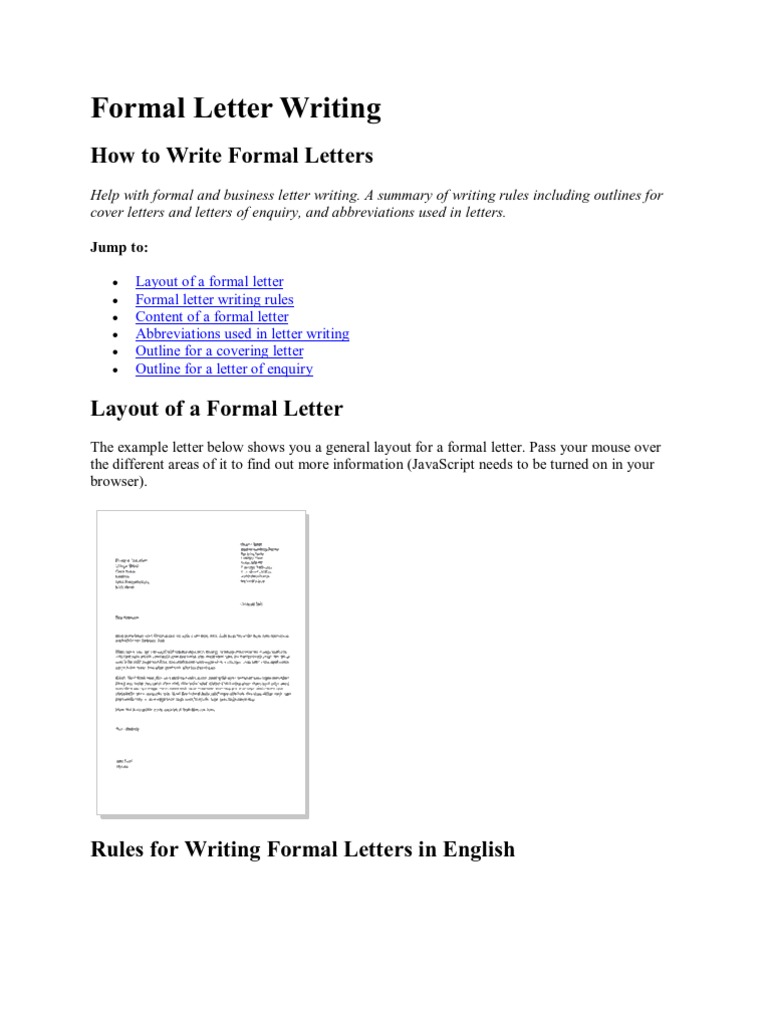 formal letter writing in english Activity 2a: introducing letter writing collect a supply of different types of letters — both formal and informal ask the children to sort them out into two groups.