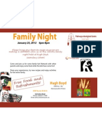 January Family Night