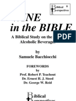 Wine in the Bible (unabridged) by Samuele Bacchiocchi