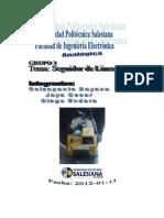 Informe Del Seguidor de Linea