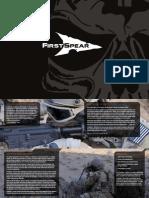 FirstSpear™ 2012 Catalog