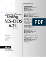Using Ms-dos 6.22