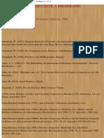 Anton Bruckner Literatur