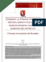 Comment La France Peut Elle Rester Competitive Sur Le Marche Mondial Dans Le Domaine Des Offsets