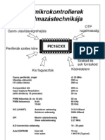 PIC mikrokontrollerek alkalmazástechnikája (1995, 59 oldal)