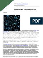 Tinker Tailor - Big Data, Analytics and Intelligence