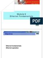 CCNA1 M6 Ethernet Fundamentals