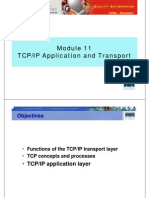 CCNA1 M11 TCPIP Transport Application