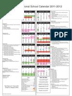 2011-2012 Calendar EPISD