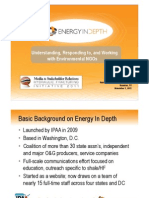 Energy in Depth Frack Talk