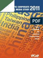 Burson Mars Teller Asia Pacific Corporate Social Media Study 111025005207 Phpapp01