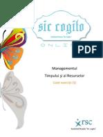 Managementul Timpului Si Al Resurselor - Caiet Exercitii (1)