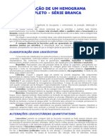 AVALIAÇÃO DE UM HEMOGRAMA COMPLETO