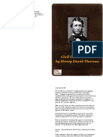 Civil Disobedience Booklet