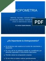 Antropometría presentación