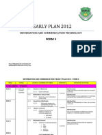 ICT Form 5_Yearly Plan 2012