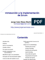 Introducción a La Implementación de Scrum