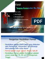 Presentasi Tugas Komputer Stkip Bu Reza