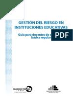 GUIA-Gestion Del Riesgo en IIEE
