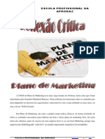 Reflexão Crítica de Plano de Marketing