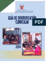 Guia de Diversificacion Curricular 2004