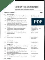 Journal of Scientific Exploration- Volume 14
