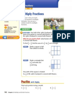 Multipart Lesson Multiplying Fractions