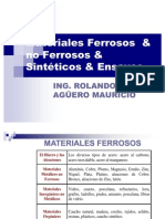 Materiales Ferroso No Ferroso
