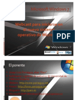 Webcast Microsoft Windows 7