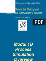 Modul 1B Hysys - Process Simulation Case 3&4