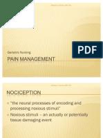 5 Pain Management
