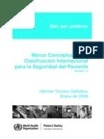 Clasificacion Internal Seg Pte 2009 Oms