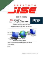 Cone Xi Ones Remotas Windows y SQL SERVER 2008[1]