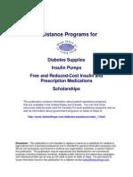 Diabetes Assistance Programs
